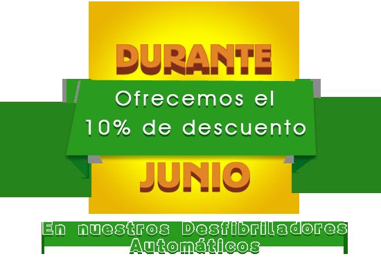 VENTA DE DESFIBRILADORES JUNIO